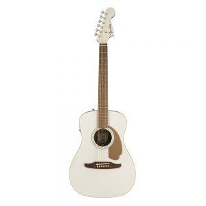 Fender California Malibu Player Small-Bodied Acoustic Guitar, Arctic Goldd