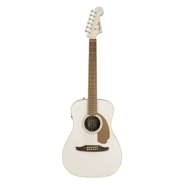 Fender California Malibu Player Small-Bodied Acoustic Guitar, Arctic Goldd