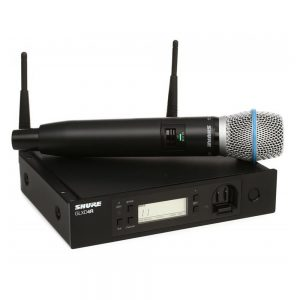 Shure GLXD24RA/BETA87A Single Handheld W/ BETA87A