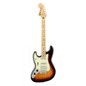 Fender Alternate Reality Sixty-Six Electric Guitar, Maple FB, 3-Tone Sunburst