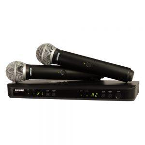 Shure BLX288A/PG58 Dual Handheld W/ PG58