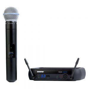 Shure GLXD24RA/BETA58 Single Handheld W/ BETA58