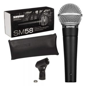 Shure SM 58 Legendary Cardioid Dynamic Vocal Microphone