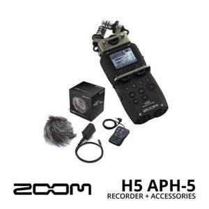 Zoom H5 Handy Recorder with APH-5 Accessories