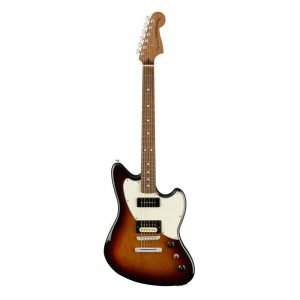 Fender Alternate Reality Powercaster Electric Guitar, Pau Ferro FB, 3-Tone Sunbust