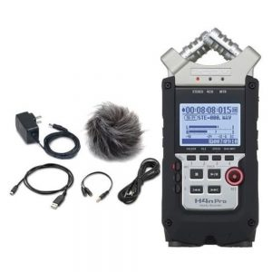 Zoom H4N PRO with APH-4N pro, RC4, MA2 Handy Recorder