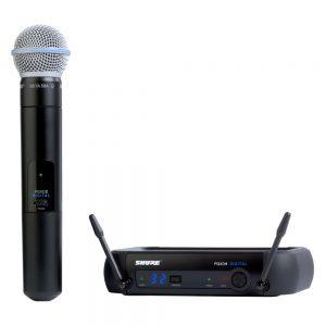 Shure GLXD24RA/SM58 Single Handheld W/ SM58