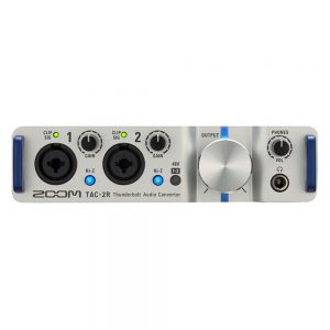 Zoom Thunderbolt TAC-2R, 2In/2Out Audio Interface
