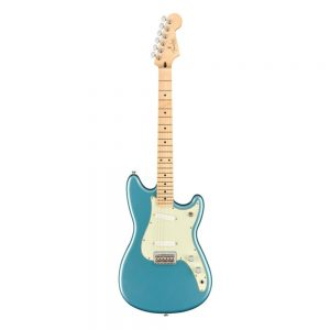 Fender Player Duo-Sonic Electric Guitar, Maple FB, Tidepool
