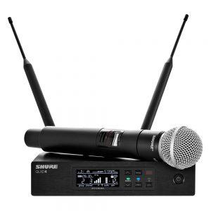 Shure QLXD24A/SM58 Single Handheld W/ SM58