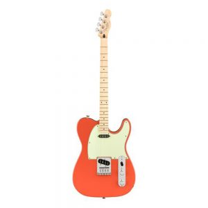 Fender Alternate Reality Tenor Telecaster Electric Guitar, Maple FB, Fiesta Red