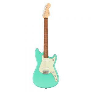 Fender Player Duo-Sonic Electric Guitar, Pau Ferro FB, Seafoam Green