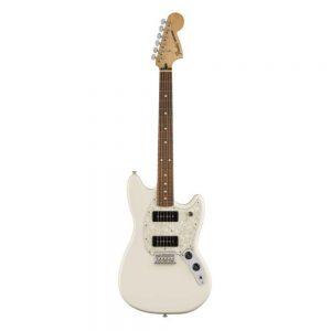 Fender Mustang 90 Electric Guitar, Pau Ferro FB, Olympic White