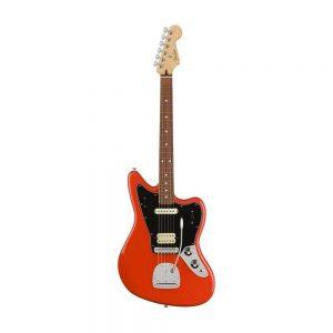 Fender Player Jaguar Electric Guitar, Pau Ferro FB, Sonic Red