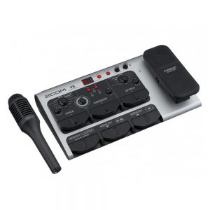 Zoom V6 Vocal Effect With Shotgun Microphone