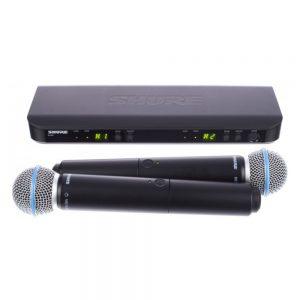 Shure BLX288A/BETA58 Dual Handheld W/ BETA58