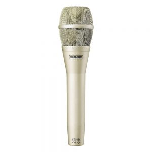 Shure KSM 9-SL (champagne finish) Cardioid Condenser Vocal Microphone