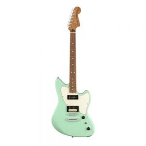 Fender Alternate Reality Powercaster Electric Guitar, Pau Ferro FB, White Opal