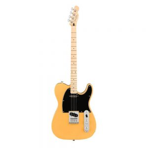 Fender Alternate Reality Tenor Telecaster Electric Guitar, Maple FB, Butterscotch Blonde