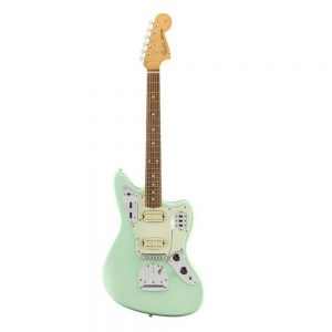 Fender Alternate Reality Powercaster Electric Guitar, Pau Ferro FB, Swafoam Green