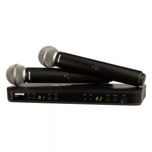 Shure BLX288A/SM58 Dual Handheld W/ SM58