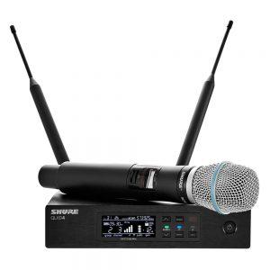 Shure QLXD24A/BETA87A Single Handheld W/ BETA87A