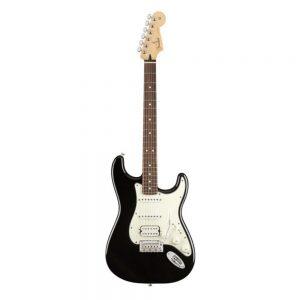 Fender Player HSS Stratocaster Electric Guitar, Pau Ferro FB, Black