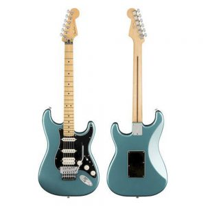 Fender Player HSS Floyd Rose Stratocaster Electric Guitar, Maple FB, Tidepool