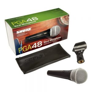 Shure PGA48 LC Cardioid Vocal Microphone