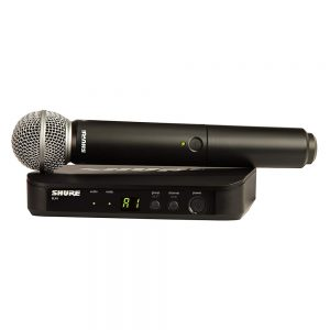 Shure BLX24A-SM58 Single Handheld W- SM58