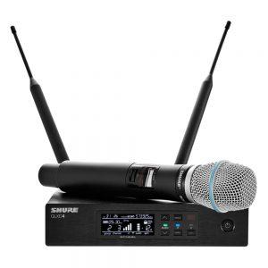 Shure QLXD24A/BETA58 Single Handheld W/ BETA58