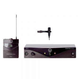 AKG WMS 450 Presenter Set BD5-A/EU 50 MW Lavalier Microphone