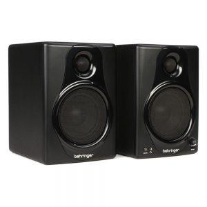 "Behringer Media 40USB 4"" Powered Studio Monitors with USB (Pair)"