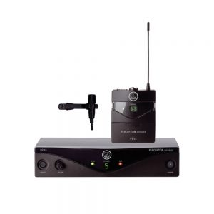 AKG Perception Wireless 45 Presenter Set Klip Microphone
