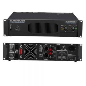 Behringer EP2000 Euro Power Powered Amplifier