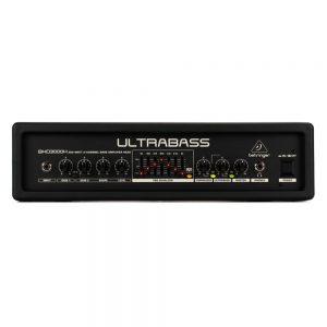 Behringer BXD3000H Ultra Bass Amplifier Head