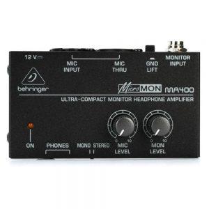 Behringer MA400 MicroMON Monitor Headphone Amplifier