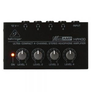 Behringer MicroAMP HA400 4-Ch Headphone Amplifier