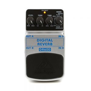 Behringer DR600 Digital Stereo Reverb Guitar Effects Pedal