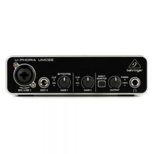 Behringer UMC22 Audio Interface