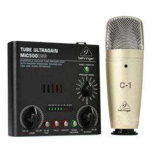 Behringer Voice Studio Recording Bundle