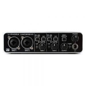 Behringer UMC202HD Audio Interface