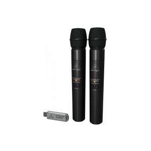 Behringer ULM202USB 2.4 GHz Dual Wireless Microphone System