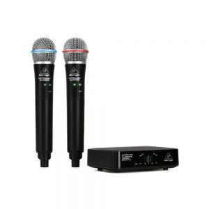 Behringer ULM302MIC Wireless Dual Handheld Microphone System