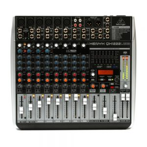 Behringer Xenyx QX1222USB Mixer with Effects