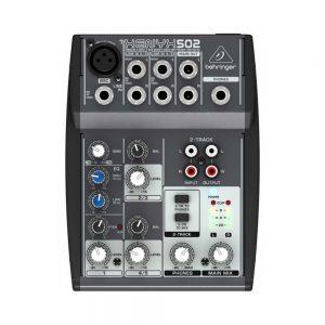 Behringer Xenyx Q502 USB Analog Mixer
