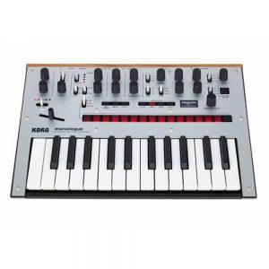 Korg Monologue-SV Analogue Synthesizer (Silver)