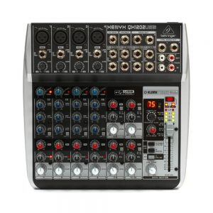 Behringer Xenyx QX1202USB Mixer with Effects