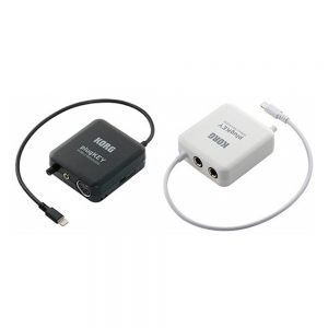 Korg PlugKey Mobile MIDI / Audio Interface for iOS (BK/WH)