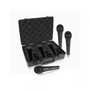 Behringer XM1800S Dynamic Microphone Set 3 Pcs
